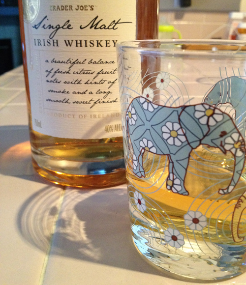 trader joe's single malt irish whiskey
