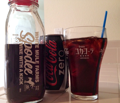 spodee and coke zero