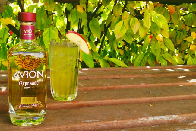 Avion autumn apple for Avion tequila mixed drinks
