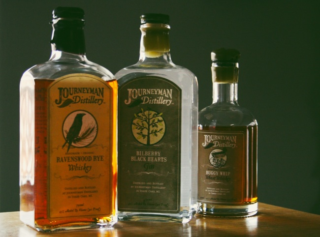 journeyman whiskies and gin