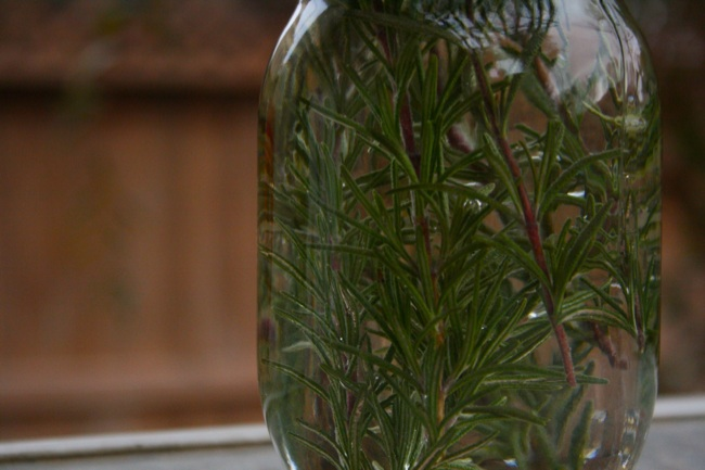gin rosemary infusion