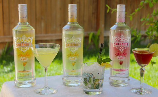 smirnoff sorbet light vodkas recipes