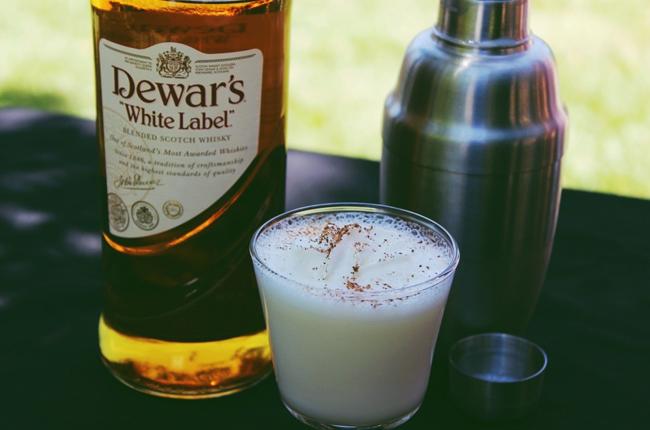 dewars scotch milk punch