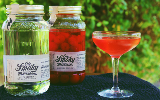 ole smoky moonshine cherries and white lightnin