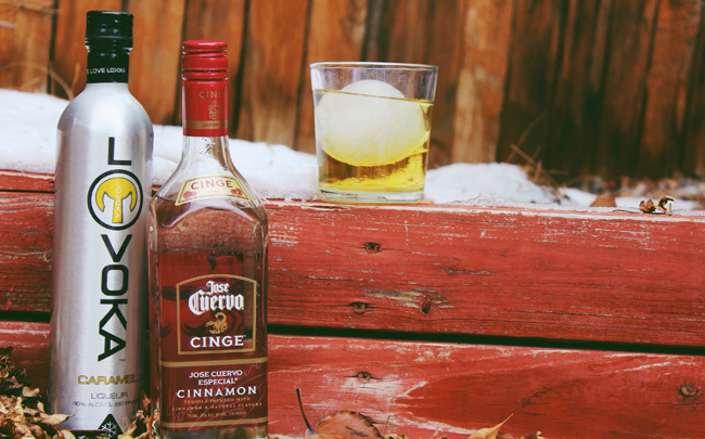 jose cuervo cinged carmel aple cocktail