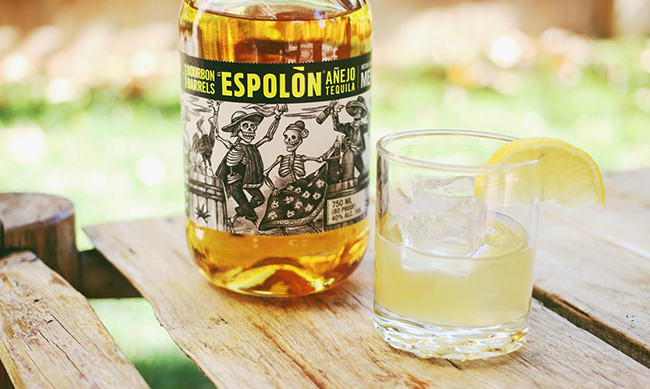 espelon tequila and cactus juice cocktail