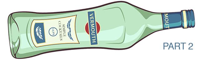 vermouth bottle illustration part 2